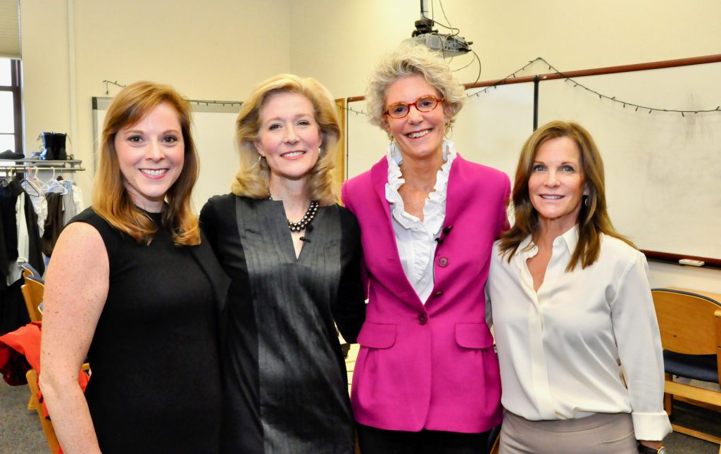 Local Legend Co-Chair Jan MacDougal, Mary Ann Childers, Ellen Stirling, and Local Legend Co-Chair Anne Hunting.