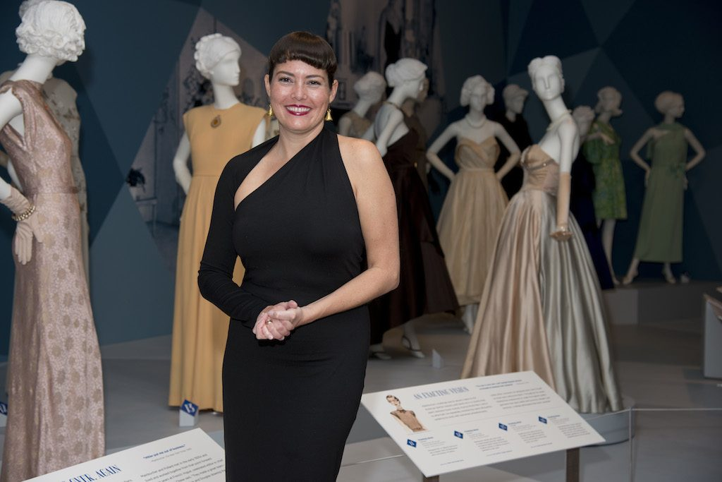 Petra Slinkard, Curator of Costumes.