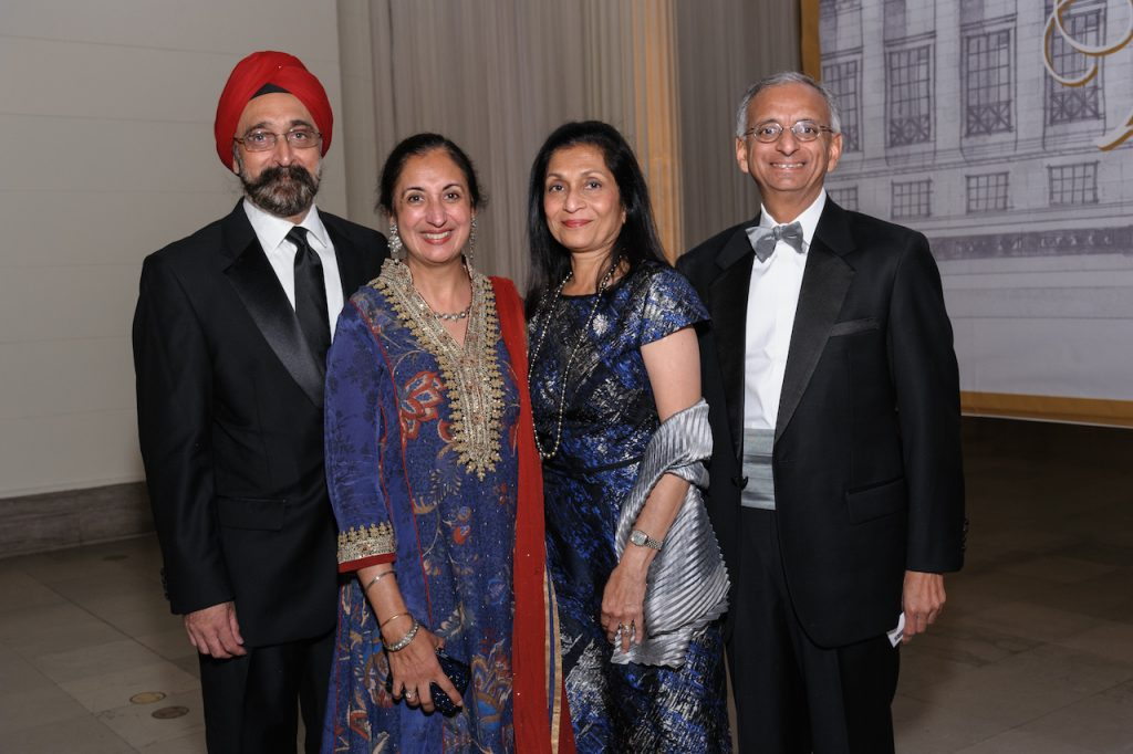 Ranjit and Santinder with Bhatia Swati and Bobby Mehta.