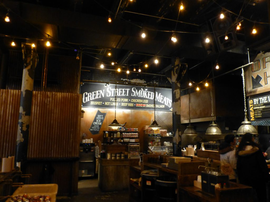Green Street Smoked Meats.