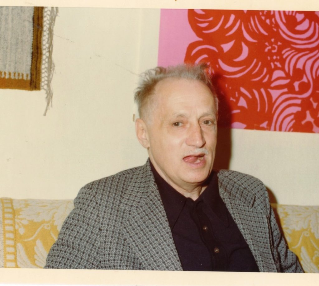Algren in party mode photographed by Andy Austin.
