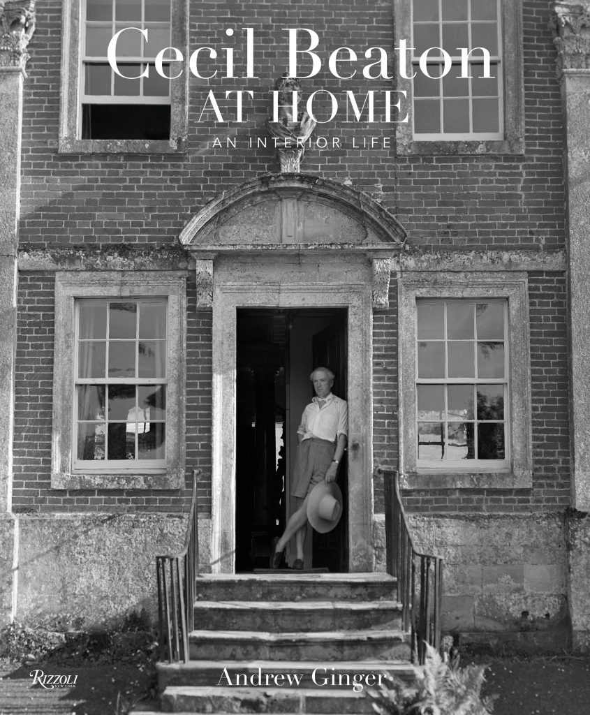 The cover of Andrew Ginger's Cecil Beaton at Home: An Interior Life. Image courtesy of Rizzoli USA.