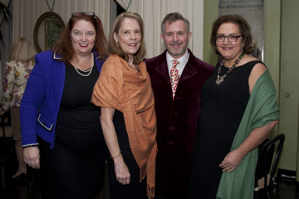Courtney Pitt, Patricia McCloud, Andrew Ginger, and Pauline Sheehan.