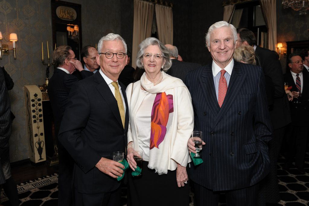 Former AIC Director Douglas Druick with Diana and Richard Senior.
