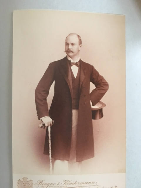"""My dapper grandfather in his """"Armour"""" days,"""