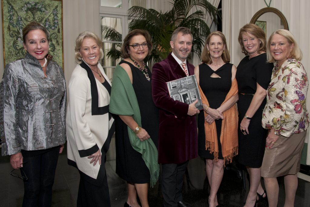 The Host Committee with author Andrew Ginger.