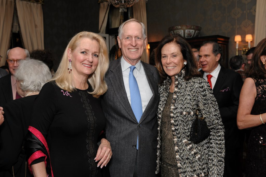Kimberly Rockefeller with David and Connie Coolidge.