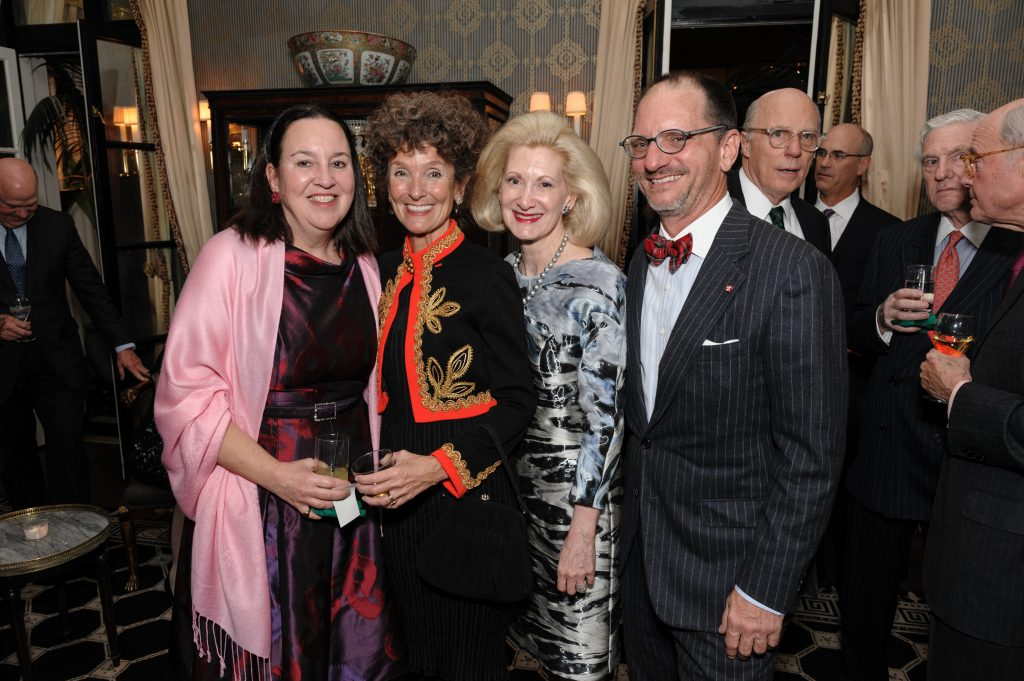 OMS President, Laura de Frise, with Gloria Groom, Laurie Bay, and Todd Schwebel.