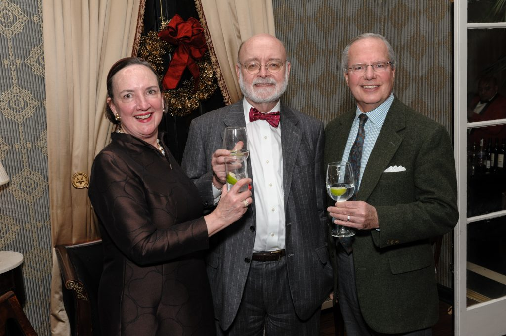 Pegeen Bodine; Christopher Monkhouse, Chair and Eloise W. Martin Curator, European Decorative Arts; and Bill Parke.