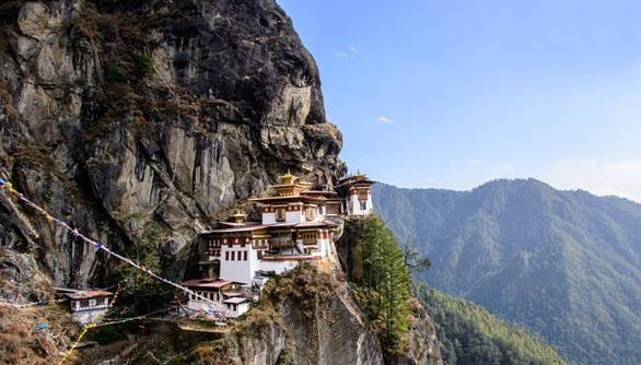 A four-hour trek to Tiger's Nest Monastery can include horses or mules.