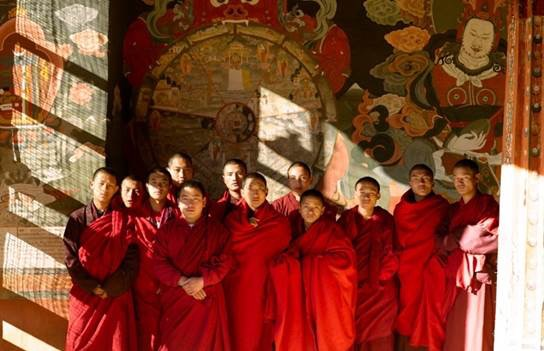 Thimphu, Bhutan. A half-day hike to a monastic village passes by a 12th century temple and can include lunch with the monks.