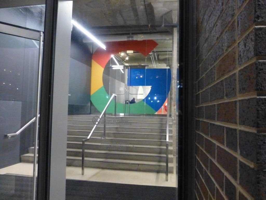 Google headquarters in the former Fulton Cold Storage building.