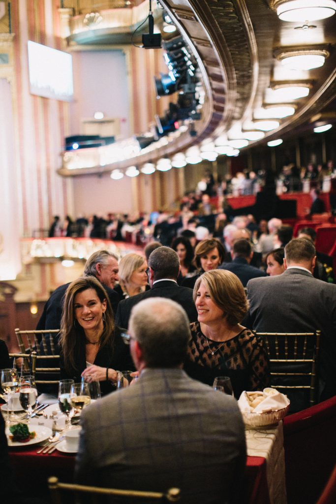9. Sponsors dining in the American Airlines Mezzanine Boxes_Lyric Chicago Voices_ Jaclyn Simpson photo