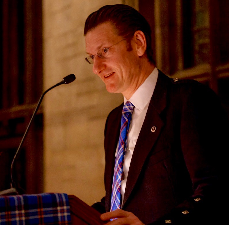 Chicago Scots President Gus Noble.